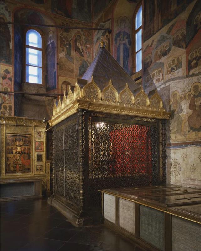 Шатер для хранения священных реликвий, 1624. Источник фото: assumption-cathedral.kreml.ru