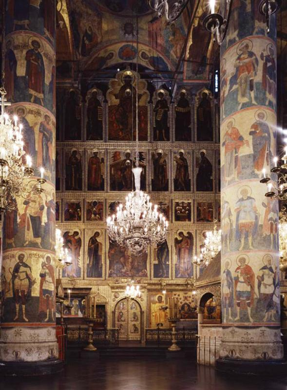Central iconostasis. Central part. General view