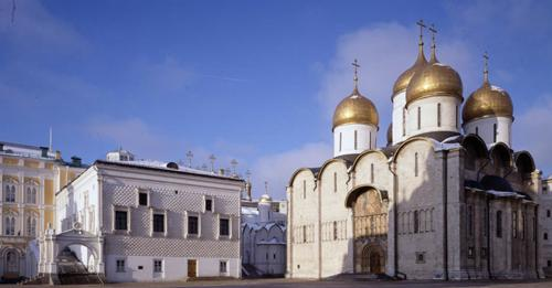 Assumption Cathedral. View from the Cathedral Square